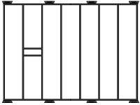 Portapacchi 200cm per Defender 90 Hard-Top