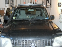 Portapacchi Toyota Land Cruiser 95 senza sponde 180x120