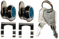 Descrizione: Descrizione: coppia serrature con medesima chiave