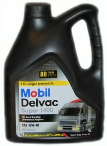 Olio Mobil Delvac Super 1400